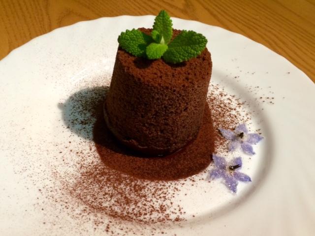 大豆粉のシフォンココア味